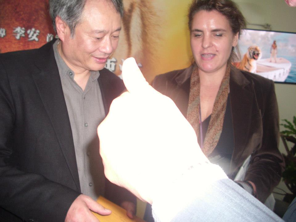 Me & world-famous, premiere film director Lee Ang